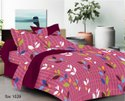 Leaf Design Bed Sheet