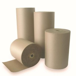 Brown Kraft Paper Roll, For Packing,Wrapping, GSM: 120 GSM