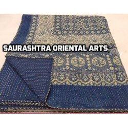 Block Print Kantha Quilts