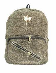 PU Plain Girls Backpack
