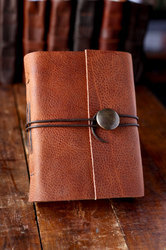 Handmade Paper Journal With Button