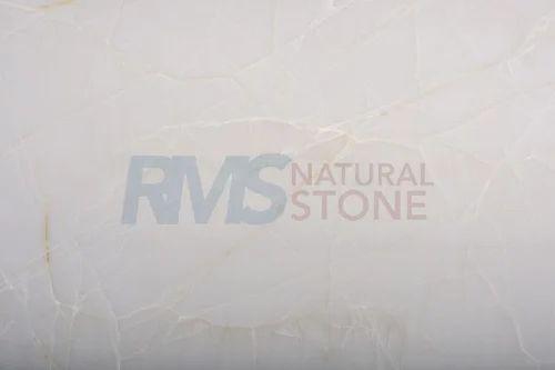 White Onyx Marble Slab