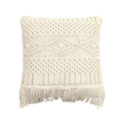 Woven Macrame Pillow Handmade Macrame Cushion Cover