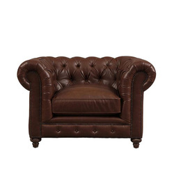 Woavin Industrial, Commercial, Hotel, Restaurant, Living room Chesterfield Single Seater Sofa
