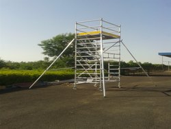 Aluminium Mobile Scaffold Towers, Size: 1800 mm