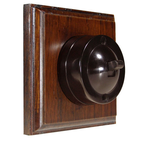 Heritage Antique Black Finish Switches