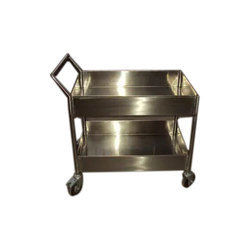 Two Compartment Kitchen Trolley
