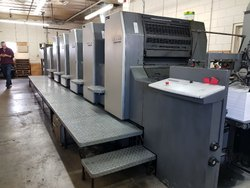 2001 Heidelberg SpeedMaster 74 5 L  5 Color with Coater