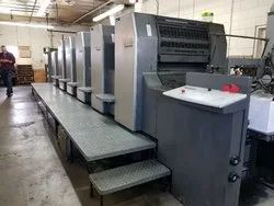 Automatic 2001 Heidelberg SpeedMaster 74 5 L 5 Color with Coater