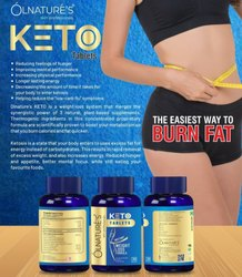Olnatures Herbal Keto Instant Weight Loss Formula, Packaging Type: Bottle, Packaging Size: 30 Tablets