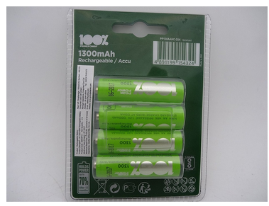 Godrej rechargeable 1300 mah battery 4bn