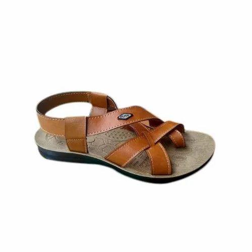 Daily wear Flite Plain Mens Sandal, Size: 6-10, Packaging Type: Box