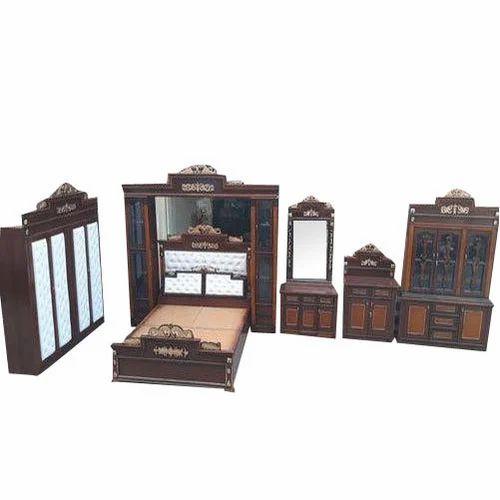 Maple Wood Wooden Wedding Bedroom Set Rs 85000 Set Al Nfm Furniture Company Id 20328319188