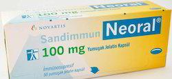 Neoral 100 mg capsules