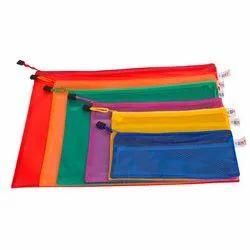 Single Pocket Zipper Files Bag