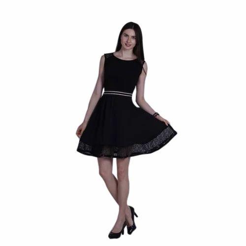 a911e90da2bc Black One Piece Short Dress