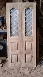 Wood Door Jaali Panel, Dimension/Size: 33x78