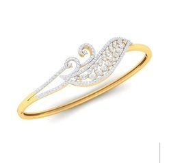 Real Diamond Bracelet For Women, Packaging Type: Box