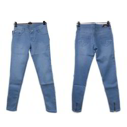 Slim Stretchable Fancy Ladies Jeans