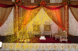 Carved Mandap, For Decoration