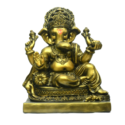 Lord Ganesha Idol Brass Shade