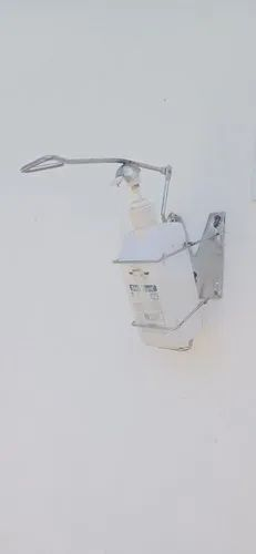 STAINLESS STEEL HAND OPERATED SANITIZER DISPENSER