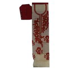 Ladies Embroidered Cotton Suit