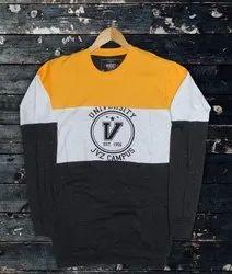 Cotton Polo Neck Mens BRAND T-Shirt