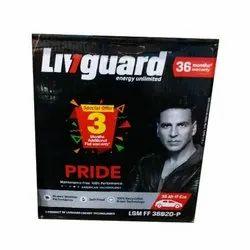 Livgaurd Livguard Car Battery, Warranty: 36 Months, Model Name/Number: Lgm Ff 38b20-p