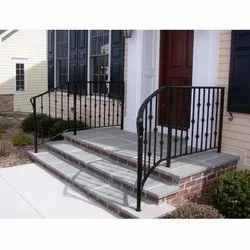 Bar Cast Iron Railing For Porch