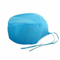 Blue Hospital Surgical Cap, Packaging Type: Packet
