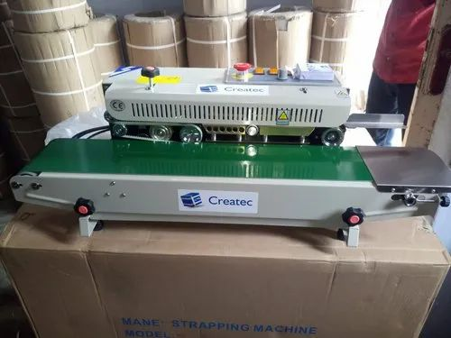 Semi Automatic Continuous Band Sealer