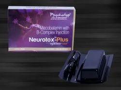 Mecobalamine 1000 mcg, Thiamine 1000 mg, Pyridoxine 100 mg, Nicotinamide 100 mg & D-Panthenol 50 mg