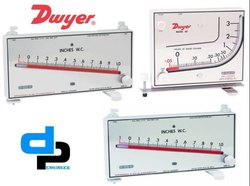 Dwyer Mark II Model 40-1-AV Manometer Range 0-1.1 Inches wc
