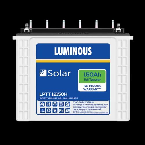 Luminous LPTT12150H Solar 150 Ah Tall Tubular Battery
