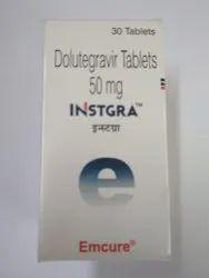 Instgra 50 mg ( Dolutegravir) Tablets