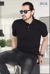 Mafatlal Basic T-shirt (BLACK)