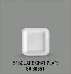 Acrylic Square Chat Plate
