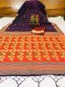 Linen Cotton Printed Saree