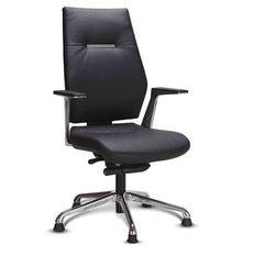 Godrej Leather Office Executive Revolving Chair