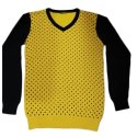 Cotton V-neck Mens Designer Printed T Shirt