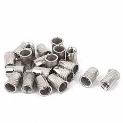 Blind Rivet Nuts (Inserts) Reduced Head-Hexagonal Steel zinc