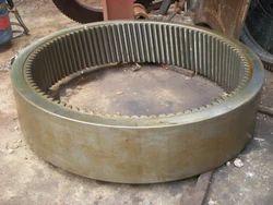 Internal Helical Gear Rings for Wind Mill