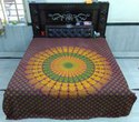Mandala Printed Bed Sheet