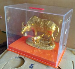 Cow Acrylic Donation Box