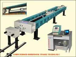 HORIZONTAL TENSILE TESTING MACHINE 100 ton