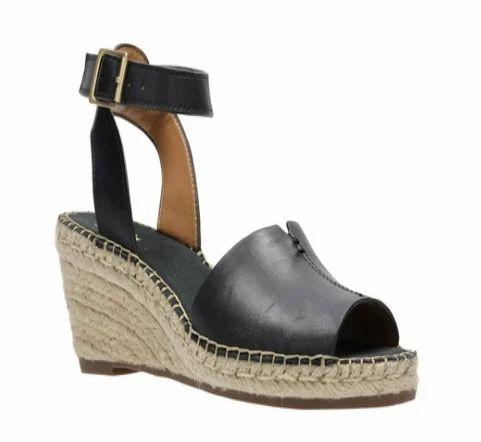 ef0154c6ce4 Petrina Selma Black Leather Sandal
