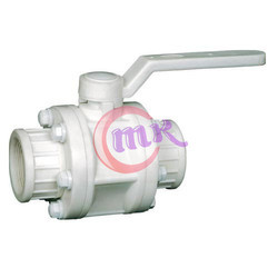 Pp Threaded Ball Valve