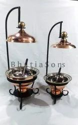 Hot Selling Copper Chaffing  Dish