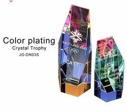 Color Plating Crystal Trophy